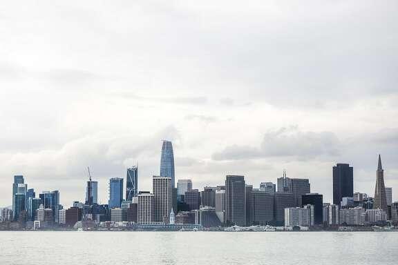 The skyline from Treasure Island in San Francisco, California, on Wednesday, Oct. 3, 2018.