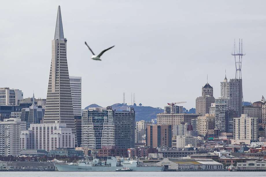 As the San Francisco skyline gets taller and taller, officials worry about how fast the city can recover from a major quake. Photo: Gabrielle Lurie / The Chronicle 2018