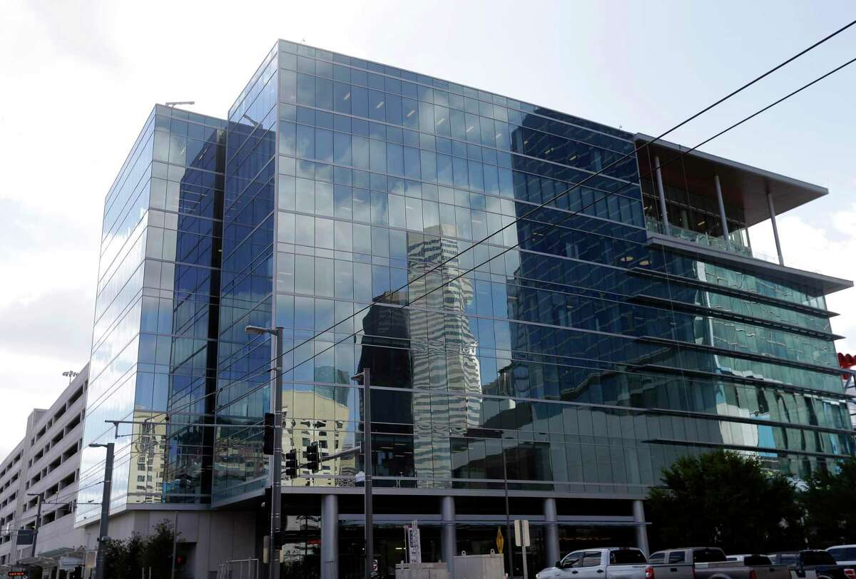 The office building of the Greater Houston Partnership, 701 Avenida De Las Americas, is shown Wednesday, Oct. 12, 2016, in Houston. ( Melissa Phillip / Houston Chronicle )
