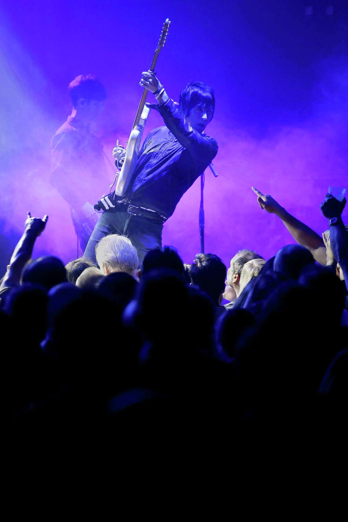 Johnny Marr performs at August Hall, Saturday, June 2, 2018, in San Francisco, Calif.