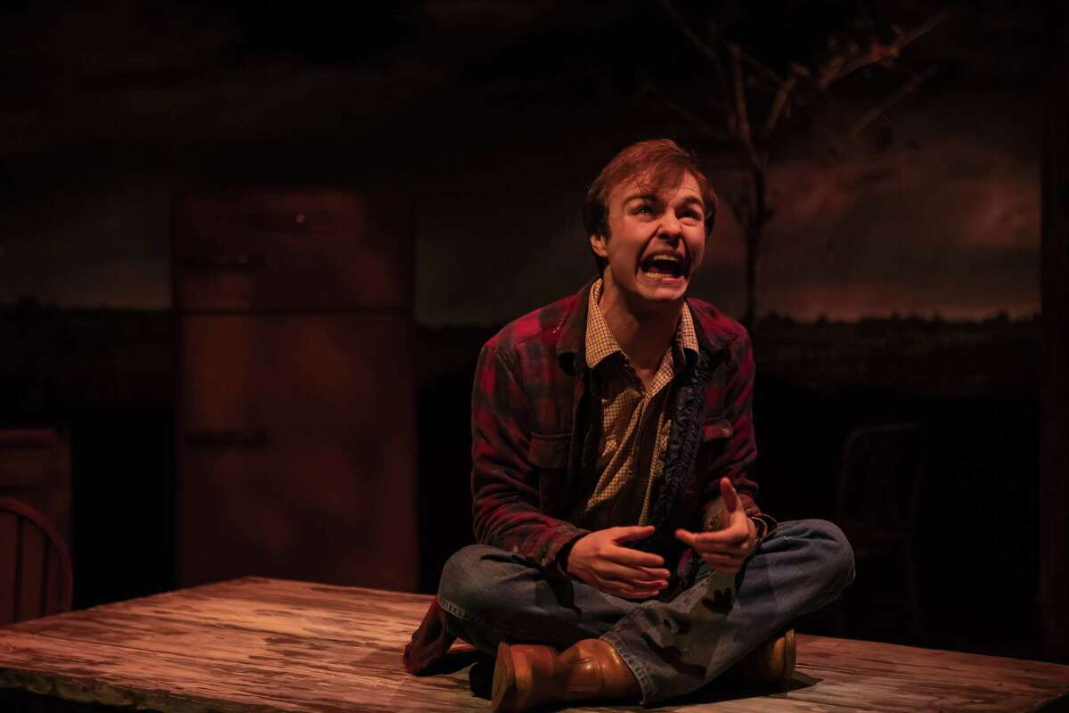 """Actor Jayden Key as Wesley in Catastrophic Theatre's """"Curse of the Starving Class."""""""