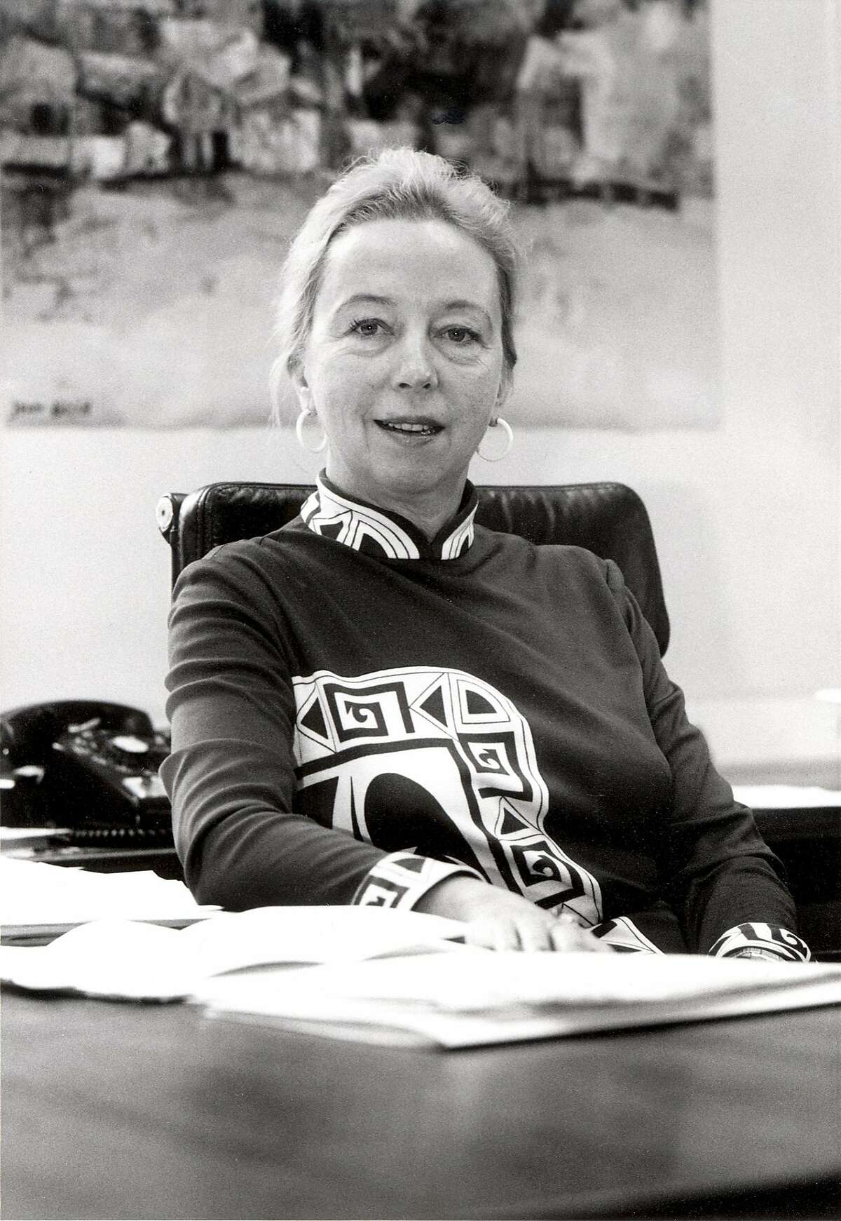 In a photo provided by ILR School Photographs/Kheel Center/Cornell University, Lois Gray in the Cornell ILR School�s New York City office, which she directed for many years. Gray, who as a professor and mentor for seven decades delivered college-trained women, immigrants and members of racial and ethnic minority groups into the ranks of American organized labor, died on Sept. 20, 2018 in Manhattan. She was 94. -- NO SALES; FOR EDITORIAL USE ONLY WITH NYT STORY OBIT GRAY BY SAM ROBERTS FOR OCT 4, 2018. ALL OTHER USE PROHIBITED. --