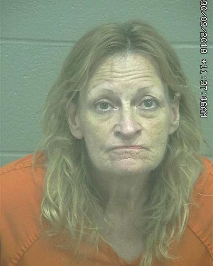 Cynthia Ann Carlton, 57, was arrested Sept.29 after allegedly stealing more than $200 in merchandise and assaulting two people, according to court documents. Photo: Midland County Sheriff's Office