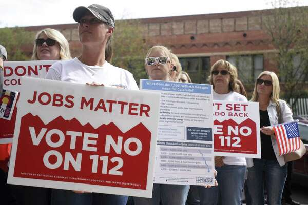 Houston oil companies fight anti-fracking measure in Colorado