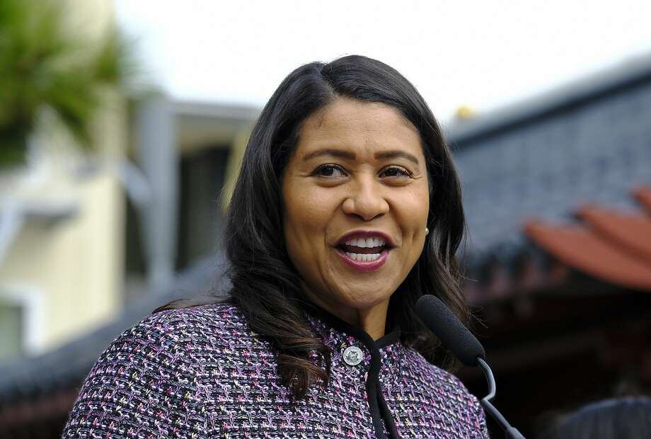 San Francisco Mayor London Breed at a news conference Tuesday, Oct. 2, 2018, in San Francisco's Chinatown. (AP Photo/Eric Risberg) Photo: Eric Risberg / Associated Press
