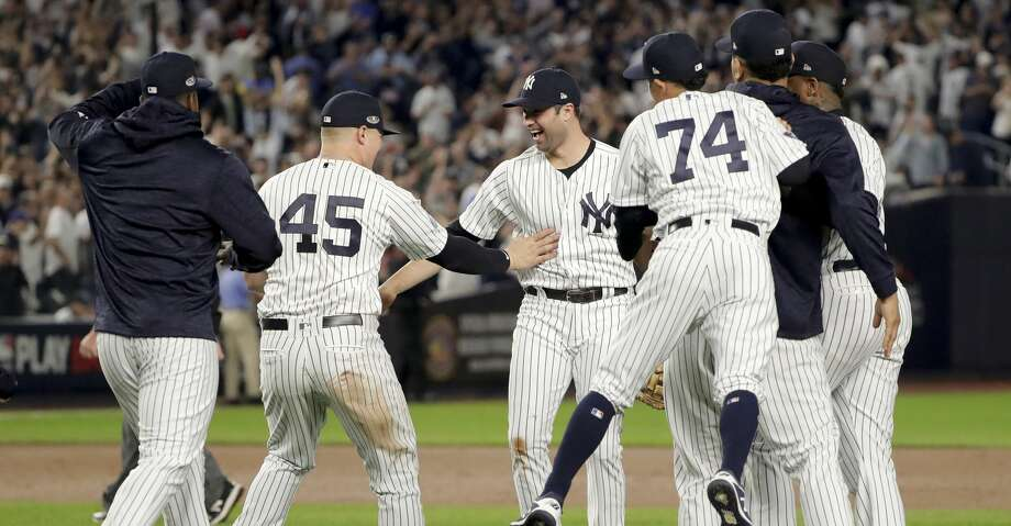 Yankees Rout As In Wild Card Game Set Up Alds Vs Red Sox