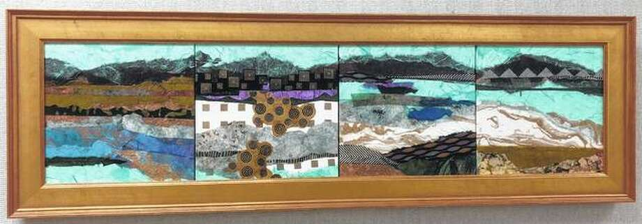 Art by Carolyn Owen Summer will be displayed Friday evening at the Municipal Building as part of First Friday activities downtown. Photo: Photo Provided