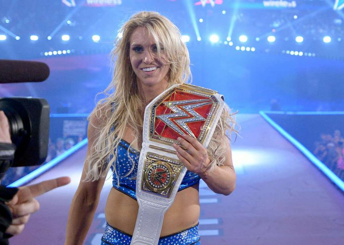 """In the past few years, WWE has made women's wrestling matter. The female performers went from getting the """"bathroom break"""" spot -- that is, given a few minutes to wrestle in between big matches -- to being headlining acts.The woman leading the pack is Charlotte Flair, daughter of the legendary Ric Flair. One of the company's best athletes, Flair is a multiple-time women's champion and, most importantly, an awesome wrestler."""
