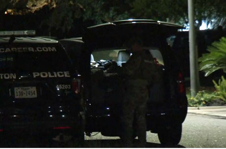 A SWAT team arrested a man at Summit Place and Renaissance on Wednesday, Oct. 3, 2018. Photo: Metro Video