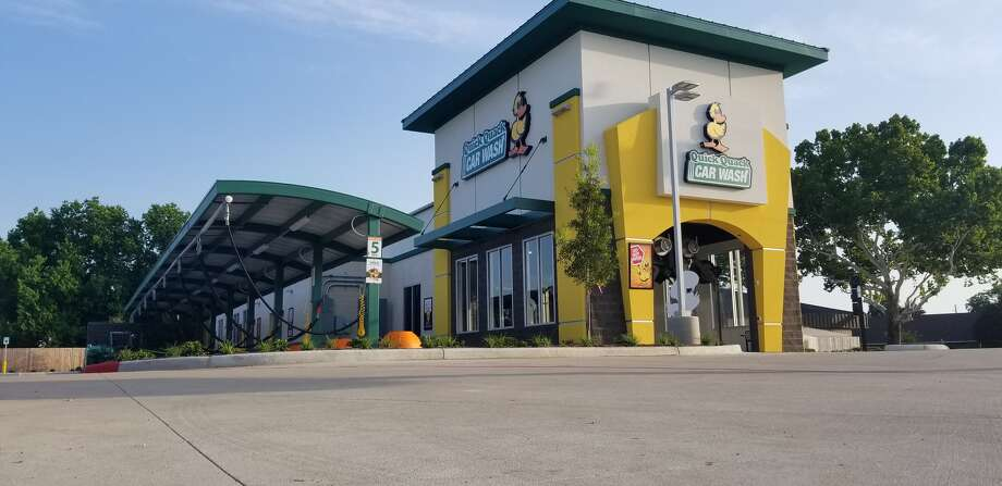 The 10th Houston-area Quick Quack Car Wash is opening with 10 days of free car washes starting Oct. 10. The new location is in Cypress at 9144 Fry Road. Photo: Quick Quack Car Wash