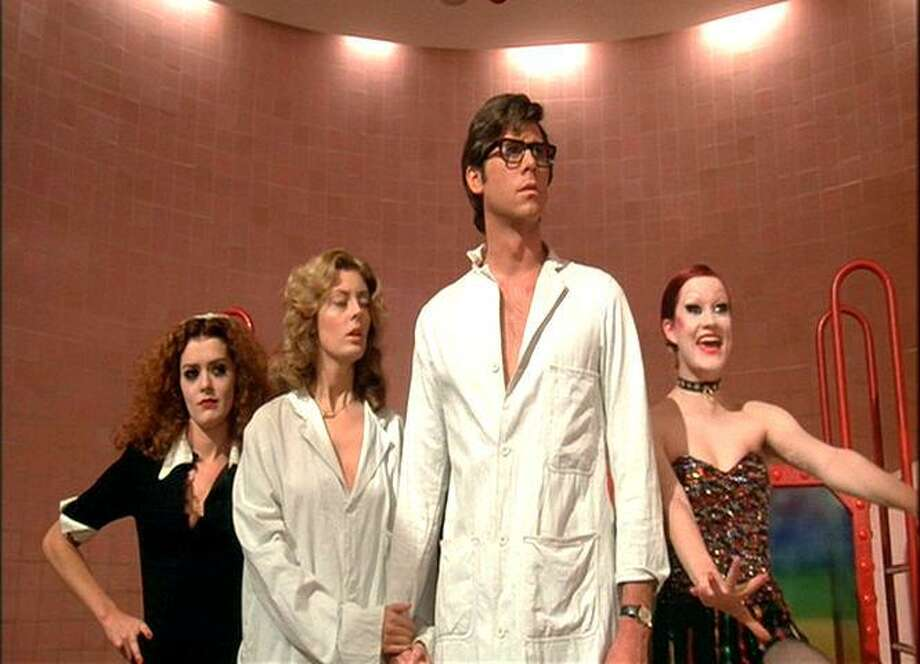 "Barry Bostwick, third from the left in a scene from ""The Rocky Horror Picture Show,"", is headed to Houston this month as special guest for a showing of the movie. He says he has fond memories of time spent in the Clear Lake area starring in a movie about the Challenger Space Shuttle disaster. Photo: 20th Century Fox 1975 / ONLINE_YES"