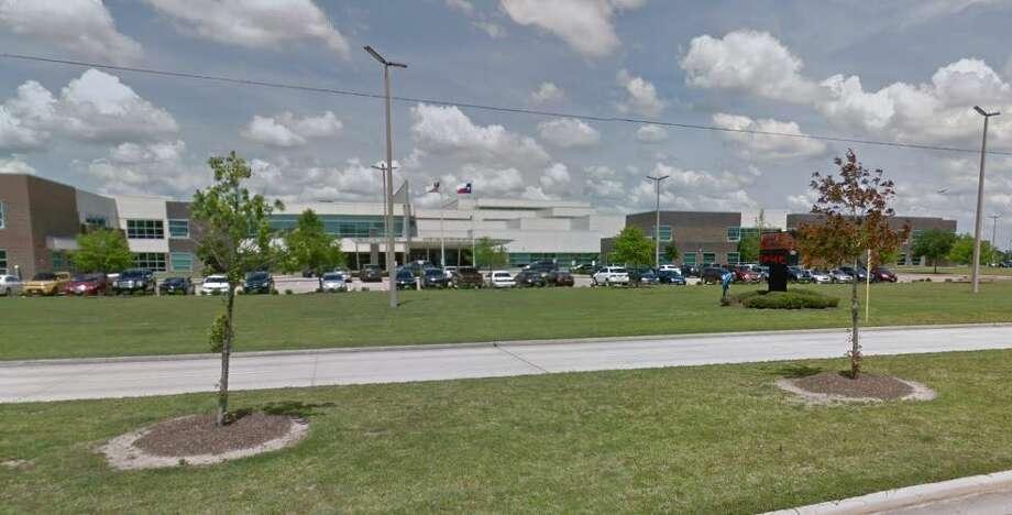 Goose Creek Memorial High School was on lockdown Thursday morning. Photo: Google