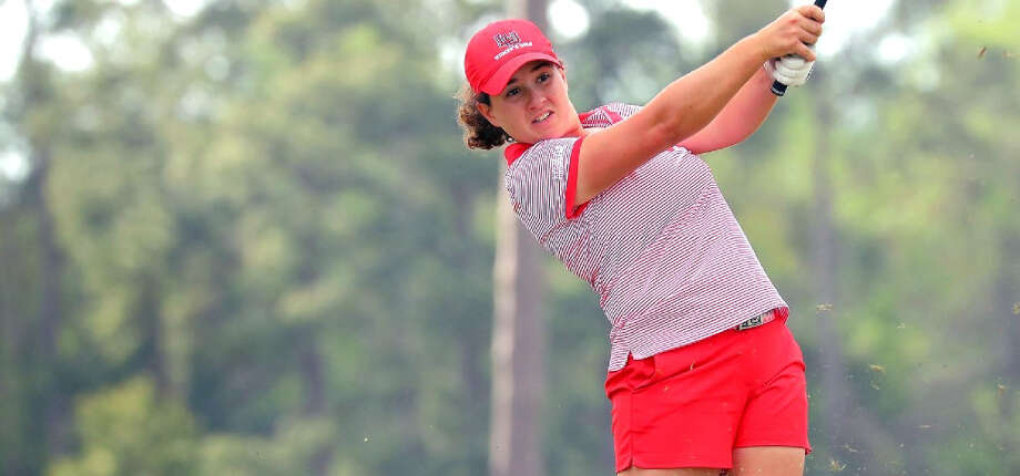 Lamar University sophomore Elodie Chapelet was named the Southland Conference Women's Golfer of the Month for September. (Photo provided by Jeff Kellum/Lamar Athletics) Photo: Lamar Athletics