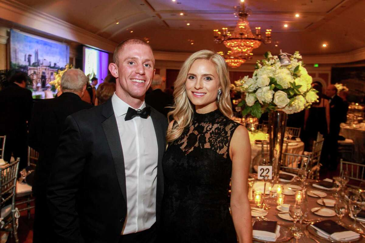 Trey and Kelly Mattson at An Evening in Rice's Honour, Rice University's bi-annual gala.