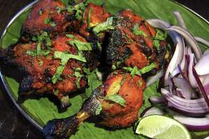 Tandoori chicken from Madurai Mes.