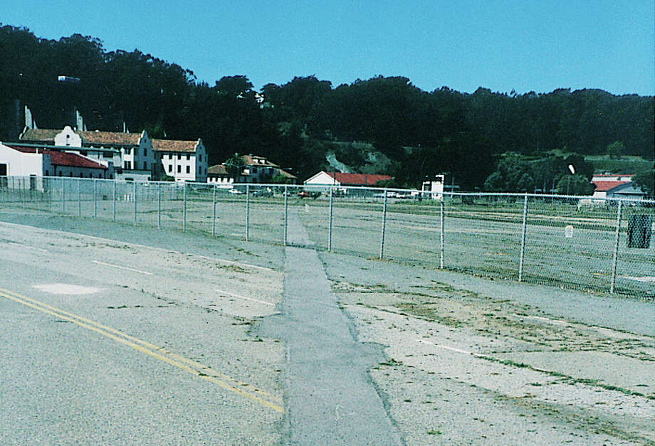 The Crissy Field Airfield Center before the renovation in 1997. Photo: Courtesy Golden Gate National Parks Conservancy