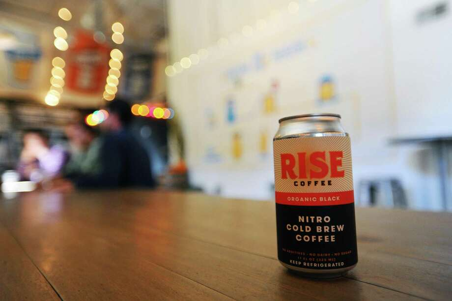 Rise Brewing's nitro cold brew — at the time in October 2016 known as Rise Coffee — at Half Full Brewery in Stamford, Conn. Photo: Michael Cummo / Hearst Connecticut Media / Stamford Advocate