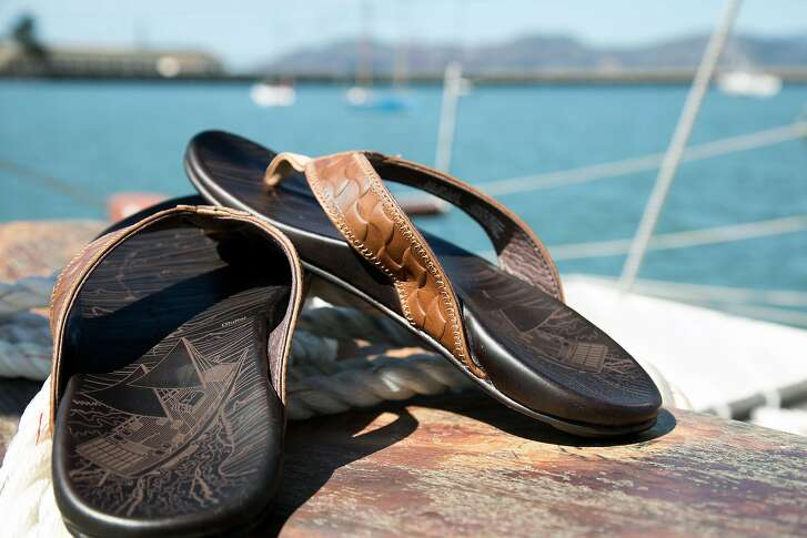 As a way to honor culture, each piece of OluKai footwear has a Hawaiian name, and each collection tells its own story, including a series of leather sandals that emerged from OluKai�s connection with the Polynesian Voyaging Society.