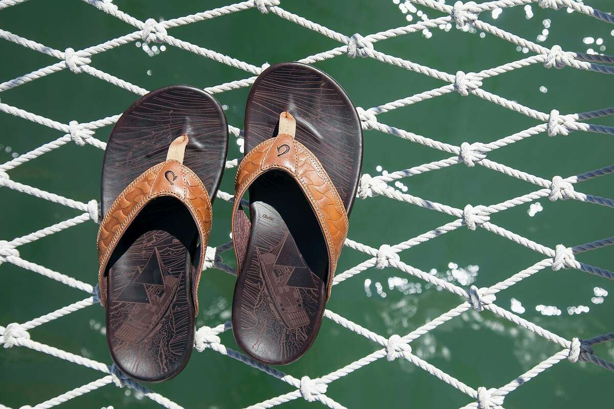 As a way to honor culture, each piece of OluKai footwear has a Hawaiian name, and each collection tells its own story, including a series of leather sandals that emerged from OluKai?•s connection with the Polynesian Voyaging Society.