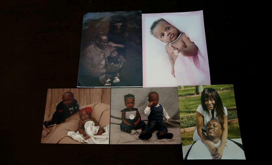 Freeman family photos. Photo: Godofredo A. Vasquez/Staff Photographer
