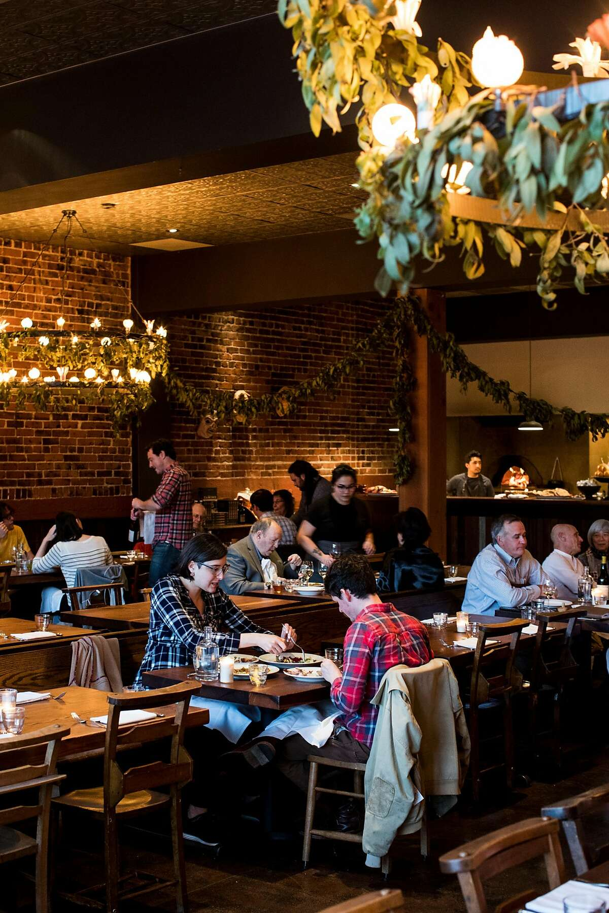 An interior view of Camino in Oakland, Calif. on Monday, March 26, 2018.