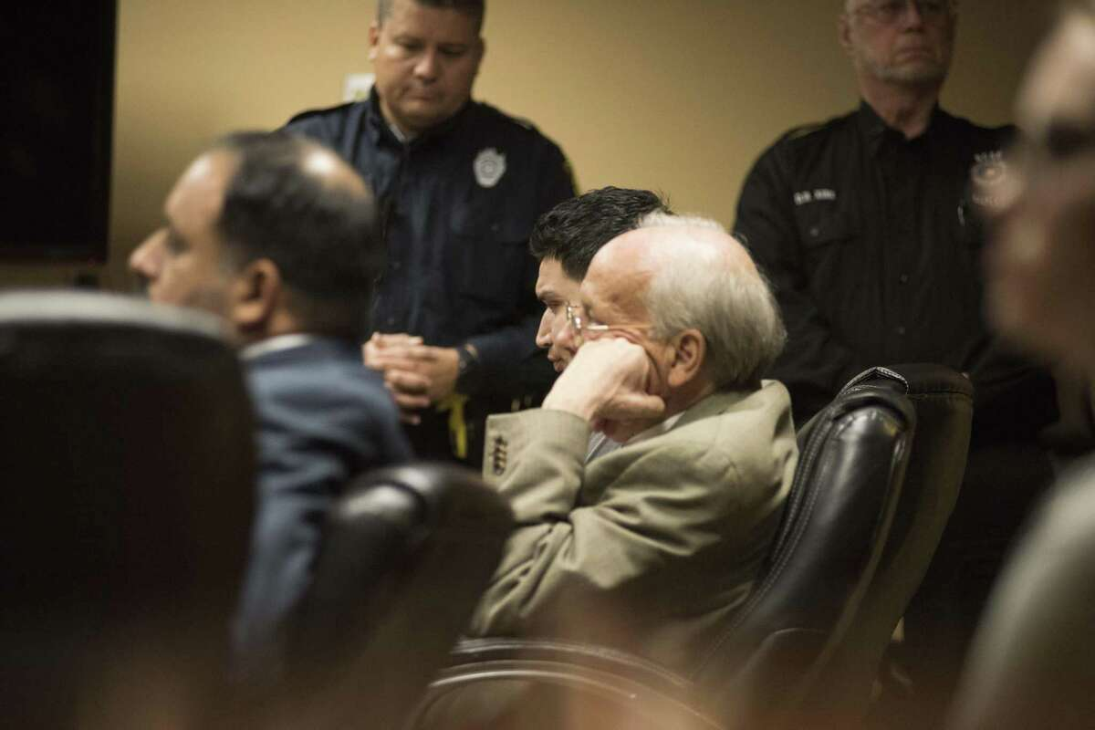 Isaac Andrew Cardenas reacts to the guilty verdict Thursday.