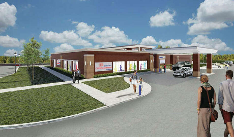 An architect's rendering of the Anderson Goshen Campus. Photo: For The Telegraph