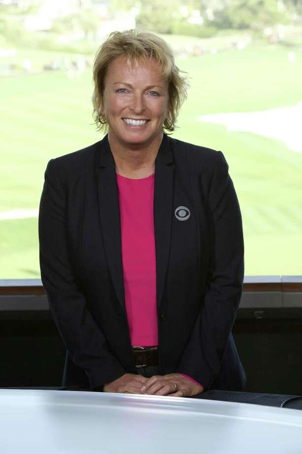 GOLF ON CBS Dottie Pepper, On-Course Reporter. Coverage of the 2018 AT&T Pebble Beach Pro-Am, broadcast on CBS SPORTS on February 10 and February 11. Photo: Cliff Lipson/CBS A?Ac.2018 CBS Broadcasting, Inc. All Rights Reserved Photo: Cliff Lipson / Ã?Â(c)2018 CBS Broadcasting, Inc. All Rights Reserved