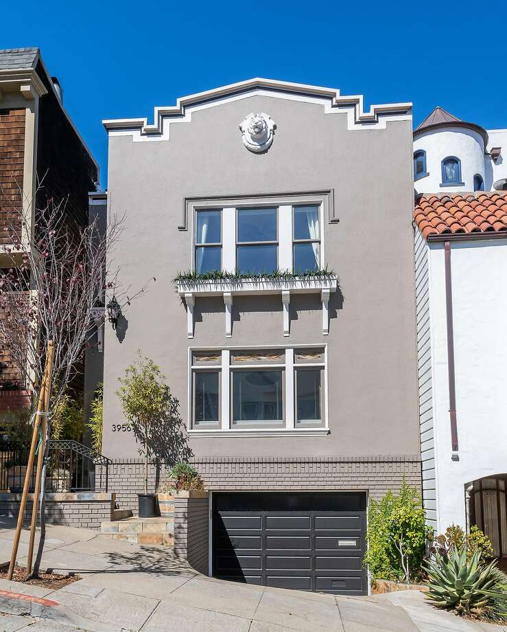 3956 20th St. in Dolores Park is a three-bedroom, two and a half bathroom available for $2.995 million. Photo: Olga Soboleva / Vanguard Properties