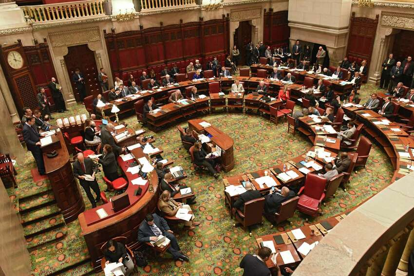 The long awaited first meeting of a committee that could grant pay raises to state legislators, agency heads and statewide elected officials has scheduled its first meeting for a week after Election Day. (Lori Van Buren/Times Union)