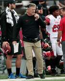 PULLMAN, WA - SEPTEMBER 29:  Head coach Kyle Whittingham of the Utah Utes works from the sidelines in the first half against the Washington State Cougars at Martin Stadium on September 29, 2018 in Pullman, Washington.  Washington State defeated Utah 28-24.  (Photo by William Mancebo/Getty Images)