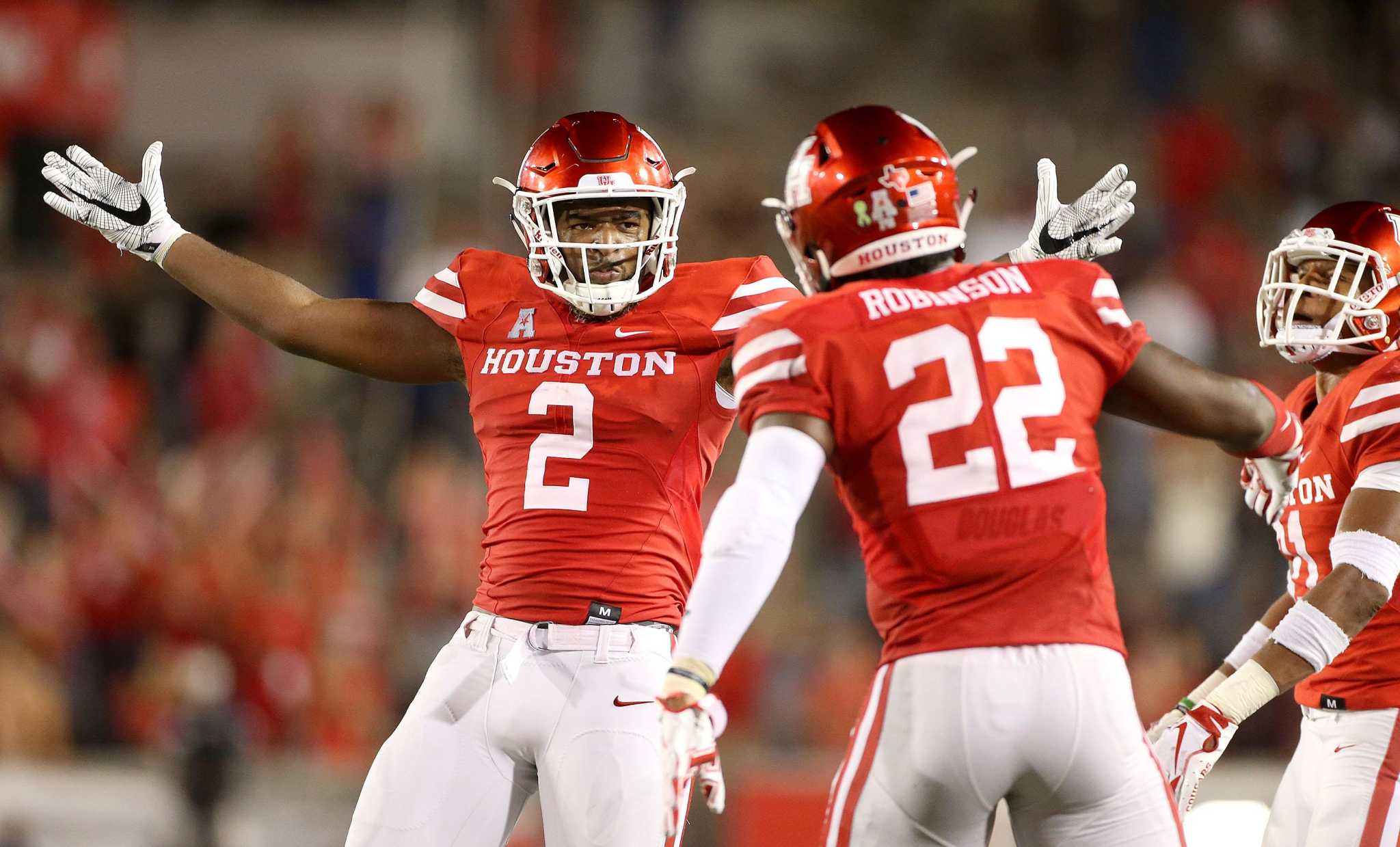 release date 66b74 a771e Breaking down 2019 Houston football: Secondary ...