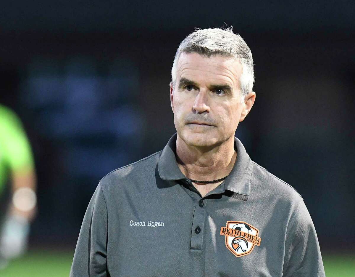 """Bethlehem girls' soccer coach Tom Rogan said he's glad to be starting practice on Monday, but said, """"It will be interesting to see how all this transpires over the course of time."""""""