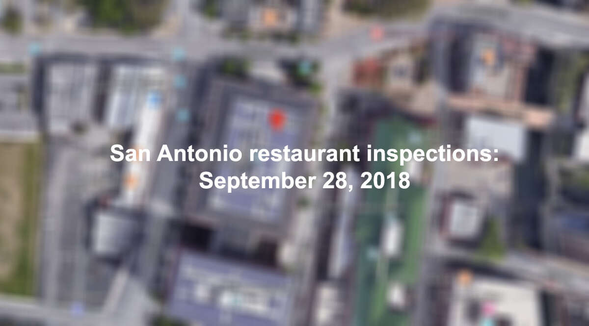 Click through the slideshow to see San Antonio restaurants with scores of an 89 or below.