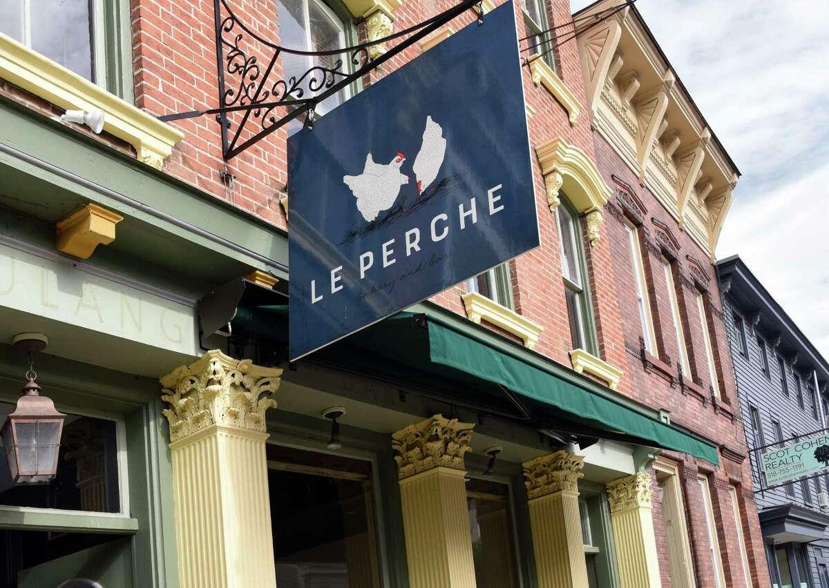 Le Perche restaurant on Warren Street Thursday Sept. 27, 2018 in Hudson, NY. (John Carl D'Annibale/Times Union)