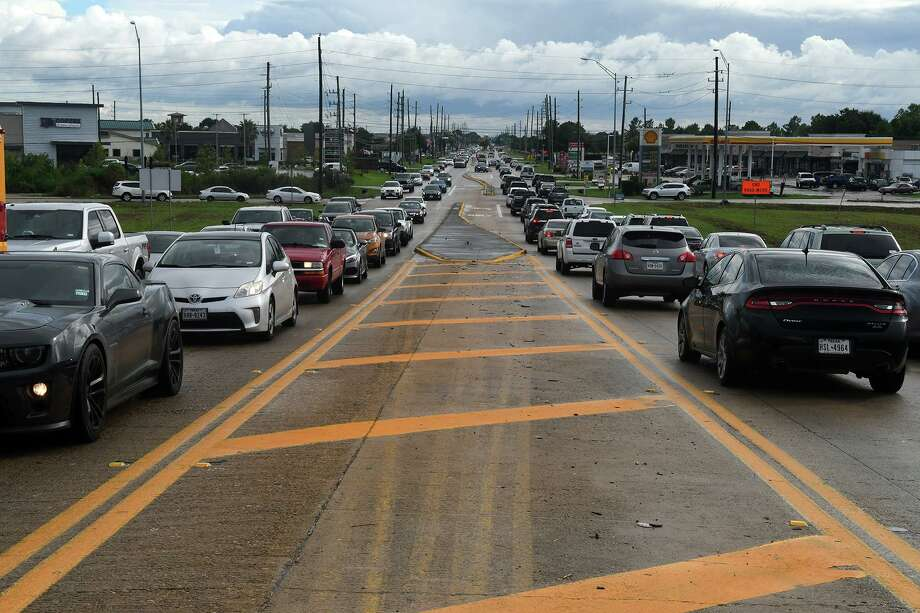 About 3.4 million Texans will travel this Memorial Day weekend with the vast majority driving and enjoying lower gasoline prices, according to AAA. This file photo shows traffic jams the north and south bound lanes south of the Barker Cypress overpass at Highway 290 on Sept. 13, 2018. Photo: Jerry Baker, Houston Chronicle / Contributor / Houston Chronicle