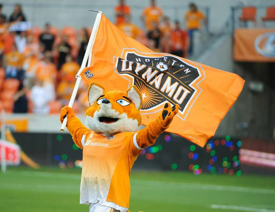 The Houston Dynamo mascot Diesel at BBVA Compass Stadium in Houston, TX. (Photo by Robert Chambliss/Icon Sportswire/Corbis via Getty Images) Photo: Icon Sports Wire/Corbis Via Getty Images