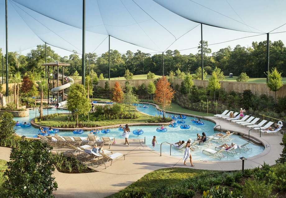 The Woodlands Resort has a pool with waterslides, a lazy river and other family activities. Photo: Stewart Cohen / The Woodlands Resort / ©Stewart Cohen