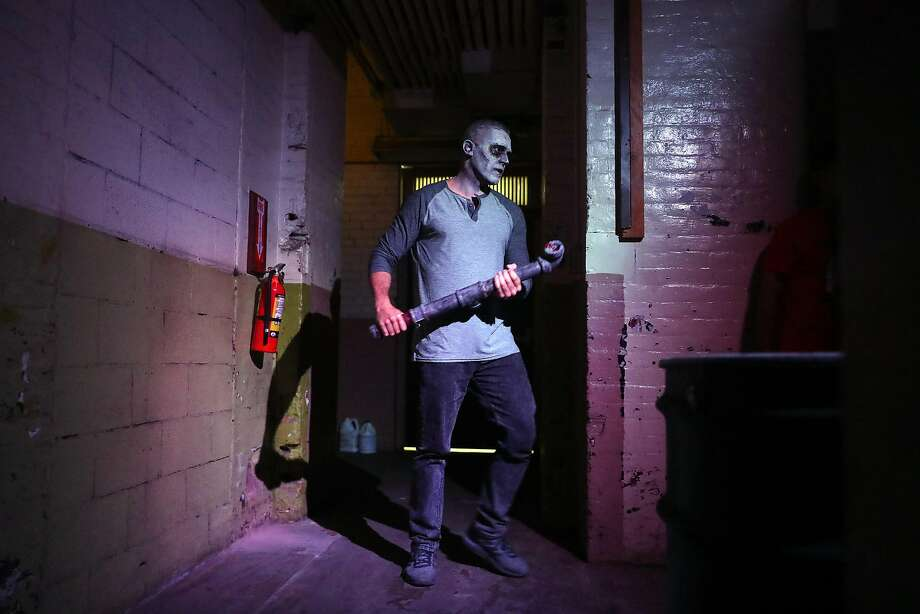 whats perhaps the coolest new halloween attraction in the bay the terror vault opens