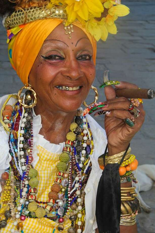 """Wilton photographer and self-described """"Unconventional Traveler"""" Daryl Hawk spent time exploring and taking images in Cuba in 2016 and 2017. This portrait of one of the country's residents is a particular memorable one for Hawk. Photo: Daryl Hawk / Contributed Photo / Hawk Photography"""