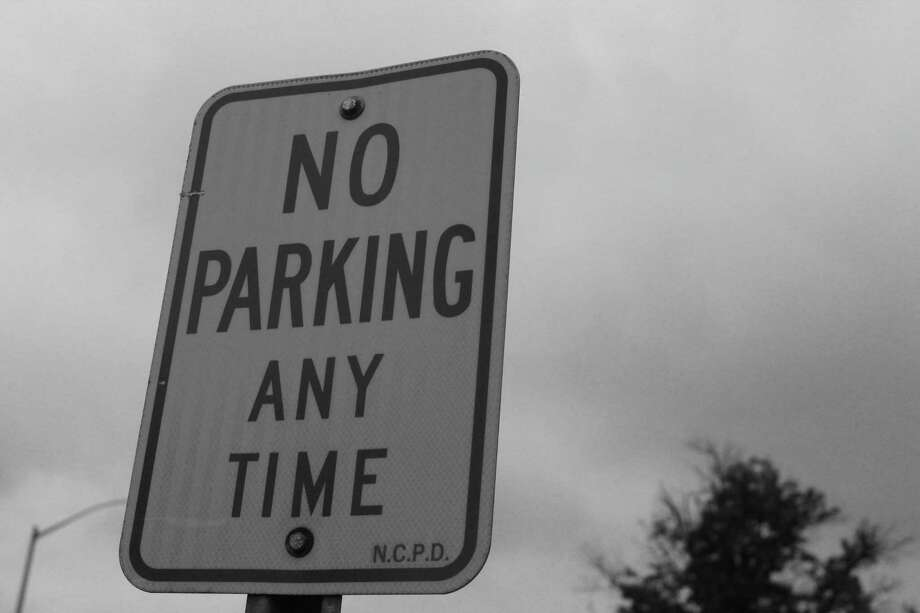 You shall not park at this location in town. Photo: Humberto J. Rocha / Hearst Connecticut Media / New Canaan News