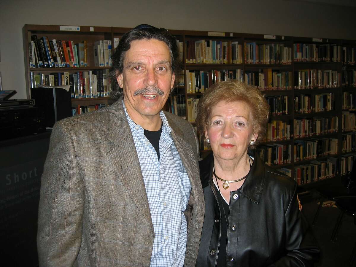Sonia Orbuch with son Paul, photographed in May 2005.