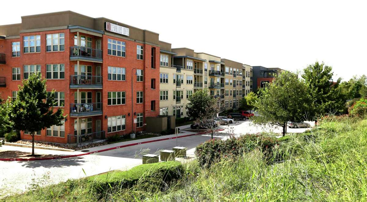 The Cevallos Lofts, seen Wednesday, Oct. 3, 2018, were built in 2010 and were the first development built with help from the San Antonio Housing Trust Public Facility Corp., a semi-autonomous city nonprofit.