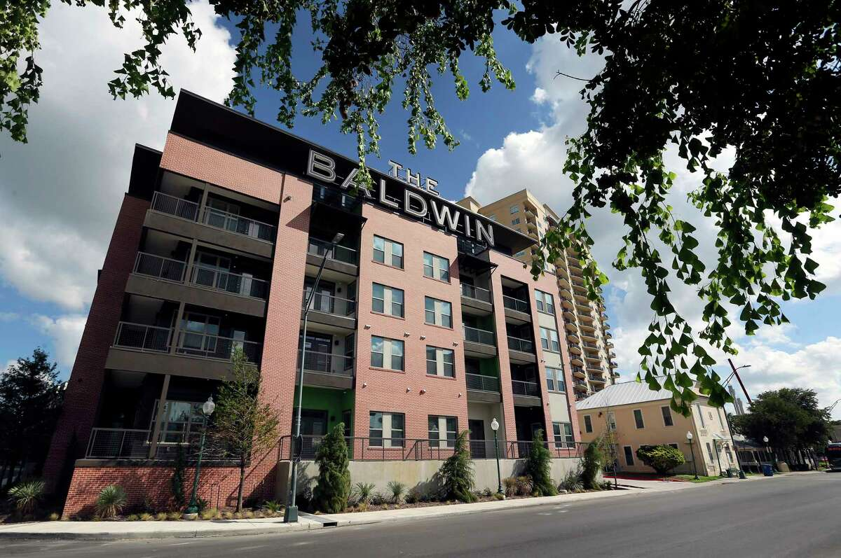 The Baldwin at St. Paul Square, seen Wednesday, Oct. 3, 2018, was developed with the help of the San Antonio Housing Trust Public Facility Corp., a semi-autonomous city nonprofit.