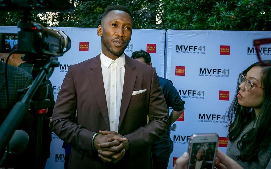 "Mahershala Ali, star of the film ""Green Book"" at the opening of the Mill Valley Film Festival in Mill Valley, Calif. on October 4th, 2018. Photo: John Storey, Special To The Chronicle"