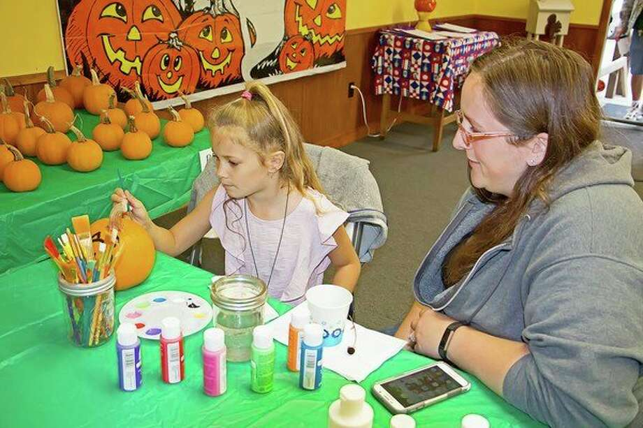 Pumpkin painting will once again be part of the Fall Color Festival at the Huron County Nature Center. (Bill Diller/For the Tribune)