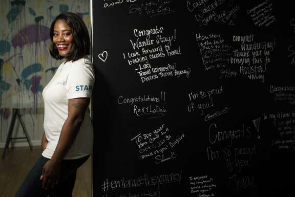 Deidre Mathis is the owner of the new hostel, Wanderstay hostel, located at 4018 Chartres Street between Midtown and the Museum District. The hostel offers space for 30 guests. Friday, Sept. 28, 2018, in Houston.