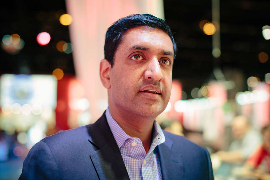 "Rep. Rohit ""Ro"" Khanna, D-Calif., recently unveiled a list of 10 principles amounting to a draft Internet Bill of Rights. Photo: Alyssa Schukar For The Washington Post"