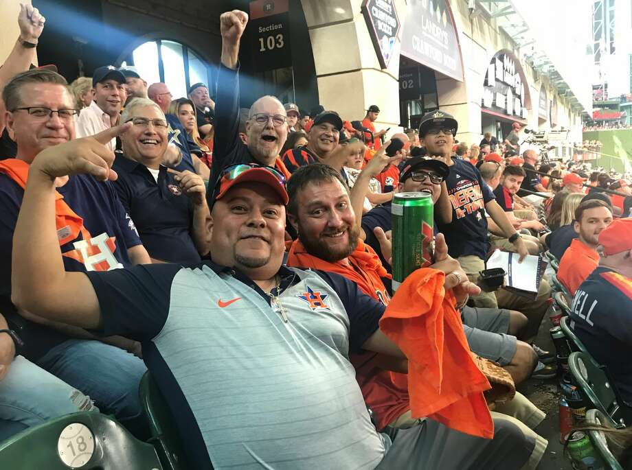 PHOTOS: A look at Astros fans at Game 1 of the American League Division Series