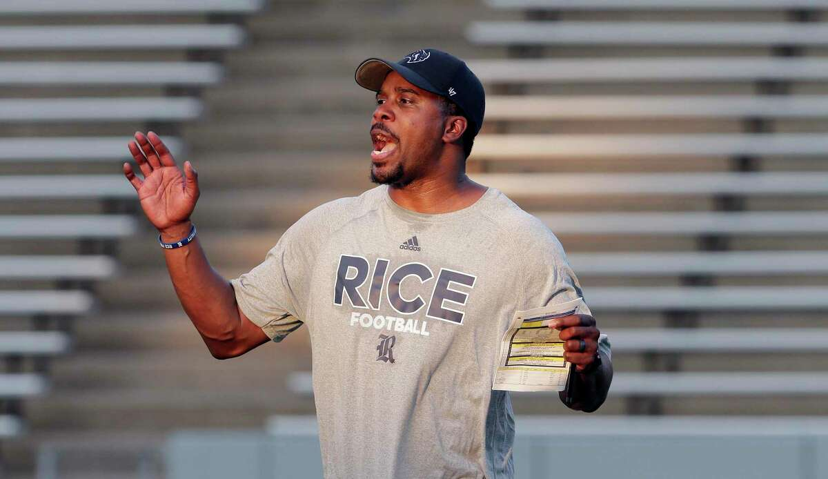 Brian Smith came to Rice from Michigan when Mike Bloomgren gave him his first chance to be a coordinator.